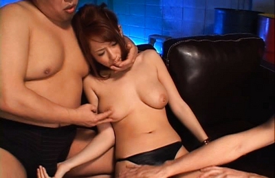 Reon Otowa Nice Japanese doll gets a hard fucking in a threesome