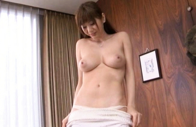 Yuma Asami Hot Asian gal with big tits enjoys hard sex