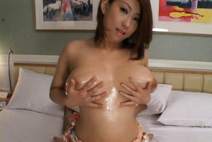Suzuka Arinaga Lovely Japanese doll has big tits