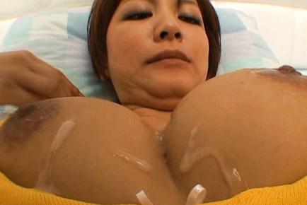 Meguru Kosaka Japanese model has big boobs
