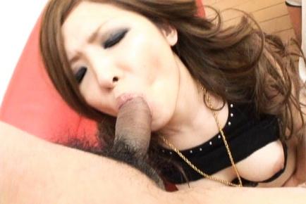 Naami Hasegawa Busty Japanese babe has a nice set of tits and fucks hard