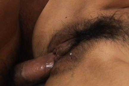 Mecumi Busty Asian babe gets a hard fucking