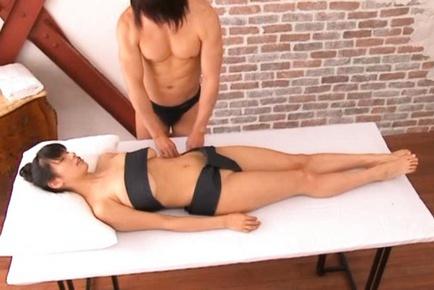 Hana Haruna Sweet Asian girl has big boobs