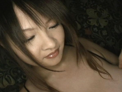 Ayumi Ayukawa Hot Asian model enjoys showing huge hooters