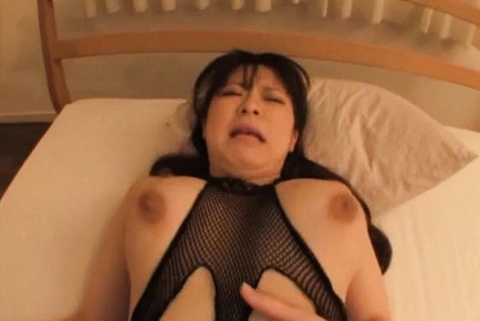 Pantyhose hardcore with big tits Satomi Nagase
