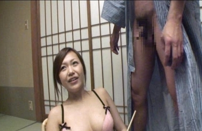 Nana Konishi Horny Asian model enjoys sucking cock and fucking