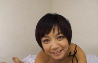 Meguru Kosaka Hot Japanese model enjoys sucking cock all the time