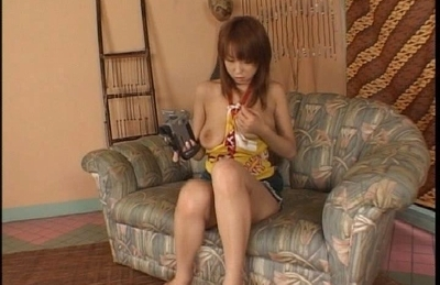 Koyoko Ayana Hot Asian doll plays with her camera and her sexy body.