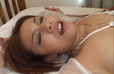 Jun Rukawa Cute Asian lady is oiled up for hot sex