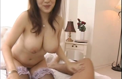 Nana Aoyama Naughty Asian babe enjoys fucking and sucking cock